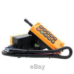10 Key Crane Industrial Remote Control Wireless Transmitter Push Button Switch