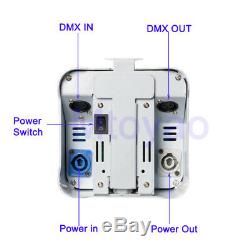 12× RGBWA+UV 6IN1 DMX Battery Remote Control 4X18W Led Par DJ Wireless Uplights