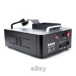 1500W Fog Machine RGB LED Stage Lighting DMX Smoke Wireless Controler Disco Show