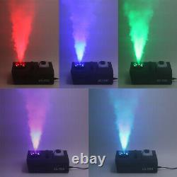 1500W Smoke Fog Machine LED Light RGB 3in1 Vertical Spray or 192 CH Controller