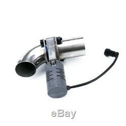2.5'' Electric Exhaust Valve Control Downpipe Cut Out Catback Wireless Remote