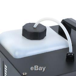 2 X 1500W Upspray Fog/Smoke Machine Effect DJ Stage With Remote Control Xmas Party