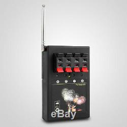 2020NEW+24 Cues FCC fireworks firing system+1200 Cues CE wireless remote Control
