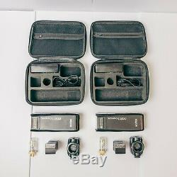 2x (Two) Godox AD200s with all accessories, 2x light stands, transmitters & more