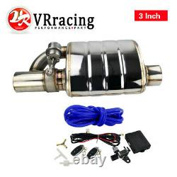 3.0 Tip On Single Exhaust Muffler Valve Cutout With Wireless Remote Controller