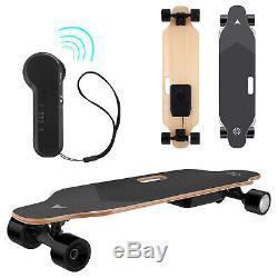 35inch Electric Skateboard Longboard 350W Wireless Remote Control Maple Deck