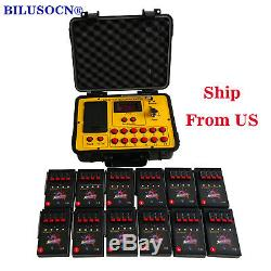 48 cues fireworks firing system wireless remote control 500M distance program
