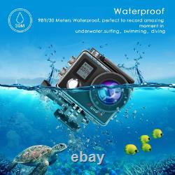 5 Action Gopro Hero 4K WiFi Ultra HD Sports Waterproof Camera 12MP 170 Degree #1
