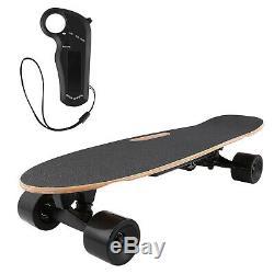 ANCHEER Electric Skateboard, 350W Motor Longboard Board, Wireless Remote Control