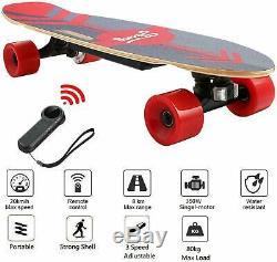 ANCHEER Electric Skateboard 350W Motor Longboard Board Wireless withRemote Control