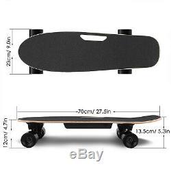 ANCHEER Electric Skateboard, Dual Motor Longboard Board Wireless Remote Control