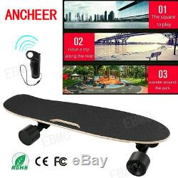 ANCHEER Electric Skateboard Dual Motor Longboard Wireless withRemote Control US