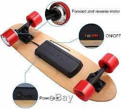 ANCHEER Electric Skateboard Longboard, Wireless Board Remote Control 350W