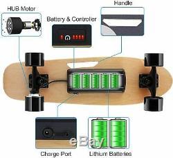 ANCHEER Electric Skateboard Motor Longboard Wireless Board Remote Control 350W