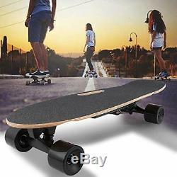 ANCHEER Electric Skateboard Motor Longboard Wireless Board withRemote Control