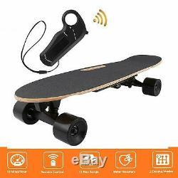 ANCHEER Electric Skateboard Wireless Remote Control Dual Motor Longboard Board
