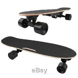 ANCHEER Electric Skateboard Wireless Remote Control Dual Motor Longboard Board #