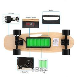 Aceshin Electric Skateboard 350W Motor Board Wireless withRemote Control Unisex