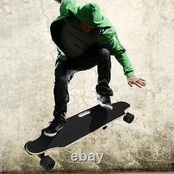 Aceshin Electric Skateboard Longboard with Wireless Handheld Remote Control 350W