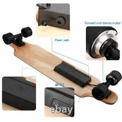 Aceshin Electric Skateboard Maple Longboard With Wireless Remote Control 350W
