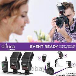 Altura Photo Professional Flash Kit for Sony Mirrorless Cameras (2 Pcs)