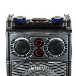 Befree Sound Party Lights Triple 10 Dj Pa Bluetooth Portable Speaker With MIC