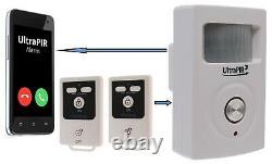 Best Selling Battery 3G GSM PIR Alarm & 2 x Remote Controls (3G UltraPIR)