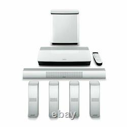 Bose Lifestyle 650 home theater system (WHITE)