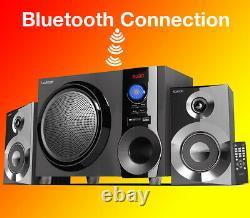 Boytone BT-225FB Powerful Wireless Bluetooth Home Speaker System 60 W, FM Radio