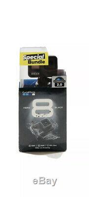 Brand New GoPro HERO8 Black 4K Waterproof Action Camera Special Bundle Black