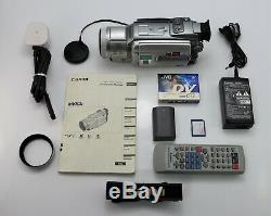 CANON MVX3i CAMCORDER MINI DV DIGITAL TAPE VIDEO CAMERA