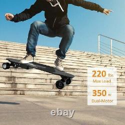 CAROMA 36 Electric Skateboard with Wireless Remote Control Dual 350W Motor USA