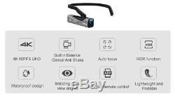 Camcorder Wearable Video Camera 4K Full HD FPV Camaras Filmadoras YouTube Camera