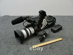 Canon XL1S 3CCD Digital Video Camcorder with Canon 16x 5.5-88mm f1.6-2.6 IS Lens