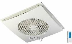 Ceiling Tile Fan With Wireless Remote Control 3 Speed SA 398