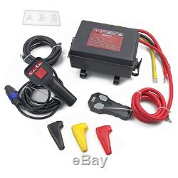 Control Box Pack Winch 12V 12000lbs Solenoid Wireless Remote Switch tmax warn