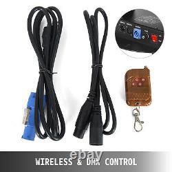 DMX Control Confetti Launcher Machine DJ FunFetti Cannon With Remote Portable