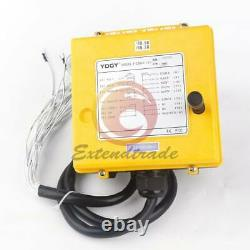 Double Emitter Hoist Crane Radio Wireless Remote Control DC 12V F23-A++