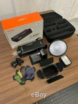 EXCELLENT Godox AD200Pro 200ws HSS 1/8000 Flash + Godox SONY Trigger