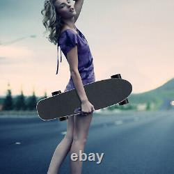 Electric Skateboard 350W Motor Long Board E-Skateboard Wireless Remote Control ^