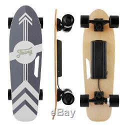 Electric Skateboard 350W Motor Longboard Board Wireless withRemote Control 20KM/H
