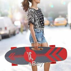 Electric Skateboard 350W Motor Longboard Board Wireless withRemote Control 3-Speed
