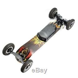 Electric Skateboard Kit Off Road Motor Remote Battery Powered Wheels 25Mph/40Kmh