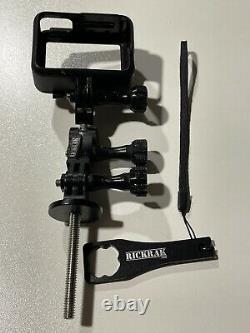 GoPro HERO7 Black 4K Waterproof With Wrist Remote, Extra Batteries, Case, More