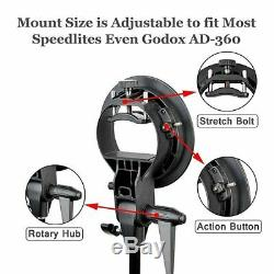 Godox 2.4G TTL Double Head AD200 Pocket Speedlite S Type Braceket AD-S11 AD-S2
