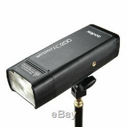 Godox AD200 2.4G TTL HSS Dual Head Pocket Speedlite Camera Flash For Sony Canon