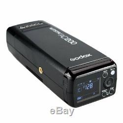 Godox AD200 Double Head Pocket Flash Bowens Braceket F Canon Nikon Sony Pentax