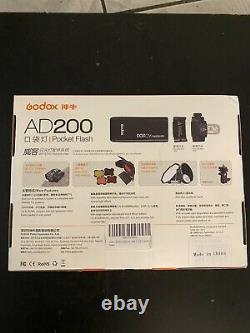 Godox AD200 Pocket Flash