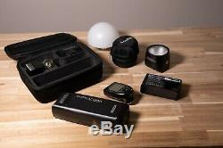 Godox AD200 Pocket Flash + Witstro H200 and Transmitter + extra battery