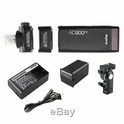 Godox AD200Pro Pocket Flash AD-S15 AD-S2 Reflector Hood AD-S11 AD-S7 Softbox